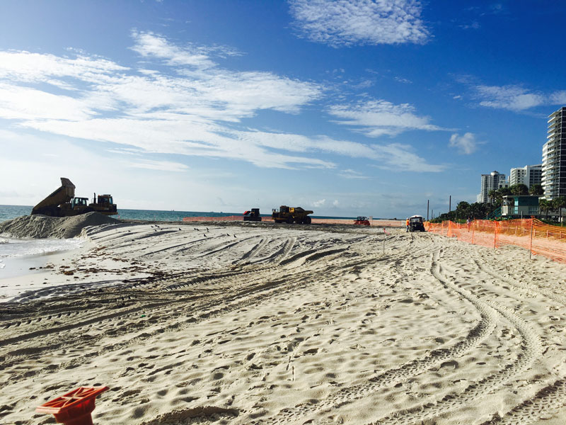 Beach Renourishment | Miami Beach - Rising Above
